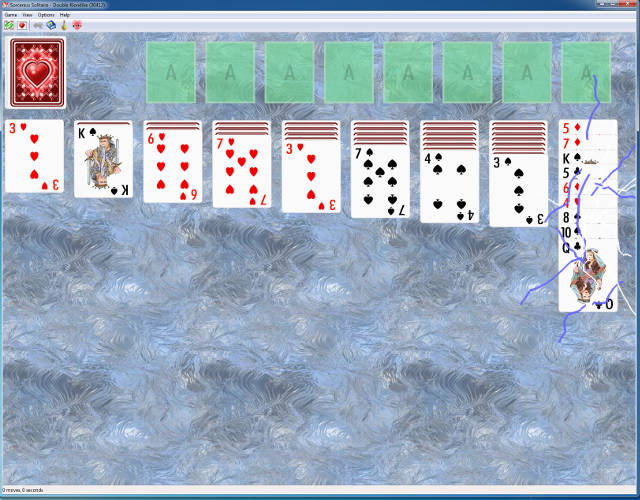 Dogmelon Sorceress Solitaire windows screenshot