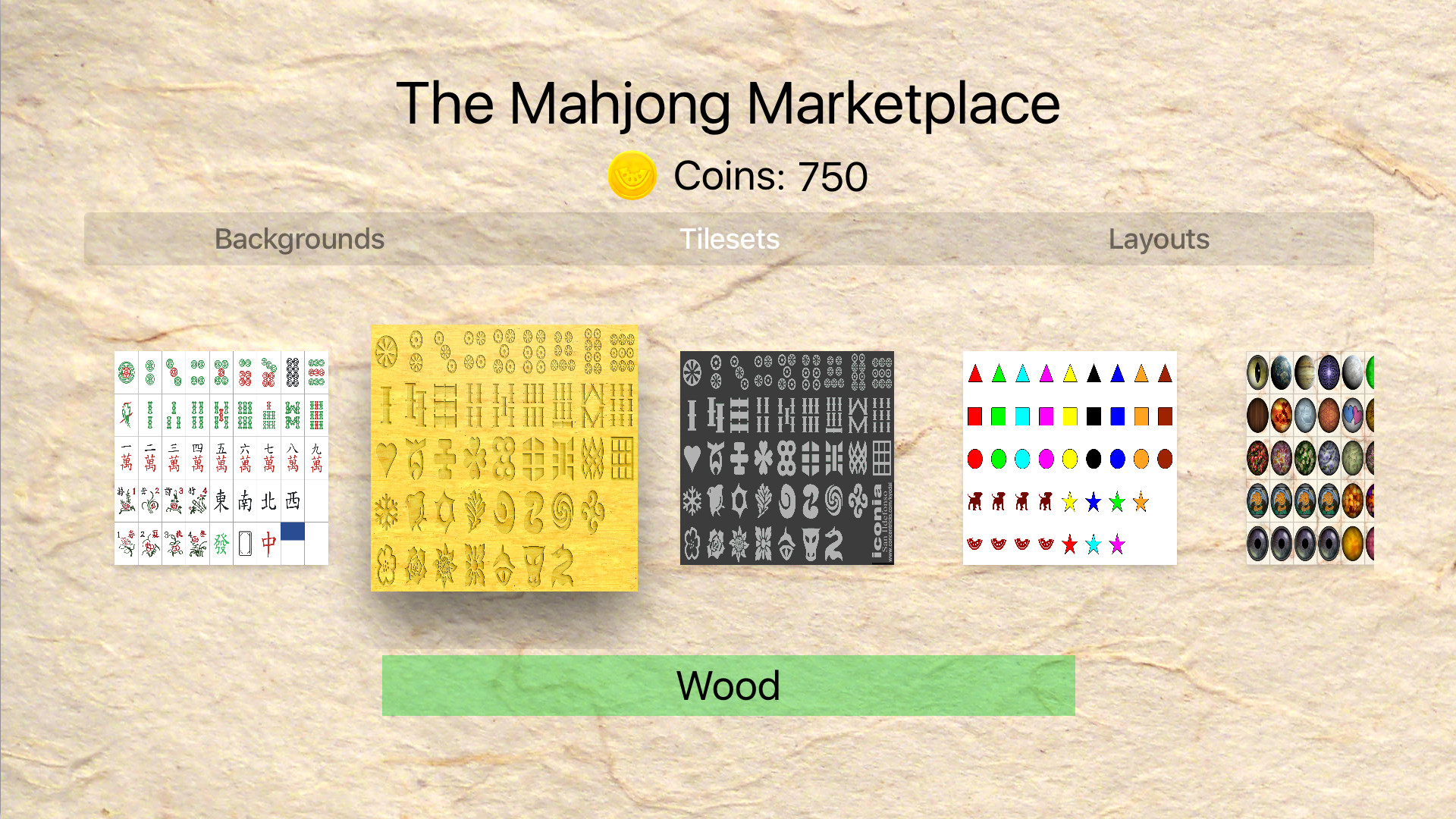 Dogmelon mahjong tvos screenshot