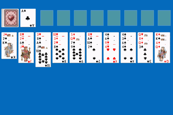 Forty Thieves Solitaire 3
