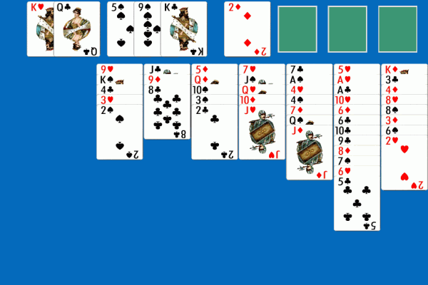 Idiots Delight Solitaire 3